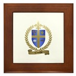 LACOMBE Family Crest Framed Tile