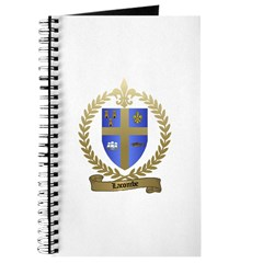 LACOMBE Family Crest Journal