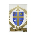 LACOMBE Family Crest Rectangle Magnet (10 pack)