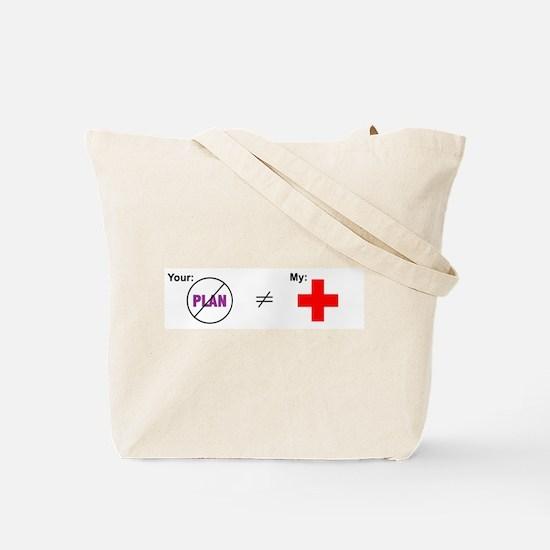 Failure to Plan: Tote Bag
