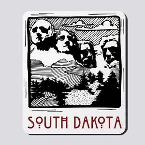 South Dakota Mount Rushmore Mousepad