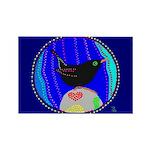 Ouzel Rectangle Magnet (100 pack)