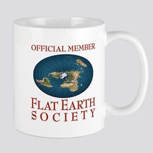 Flat Earth Society Mugs