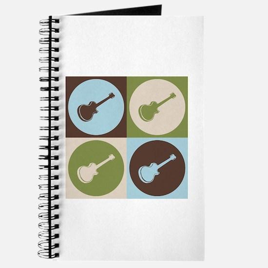 Guitar Pop Art Journal
