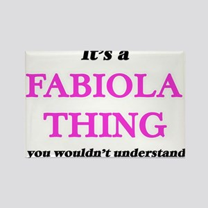 It's a Fabiola thing, you wouldn't Magnets