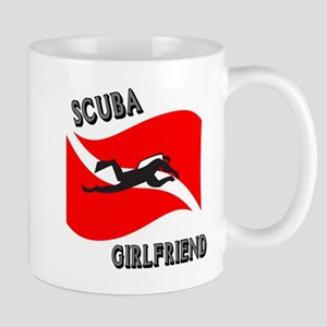 Scuba Girlfriend Mug