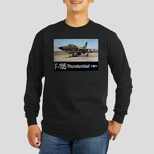 F-105 Thunderchief Fighter Bomber Long Sleeve Dark