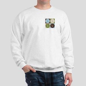 Gliding Pop Art Sweatshirt