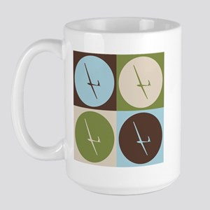 Gliding Pop Art Large Mug