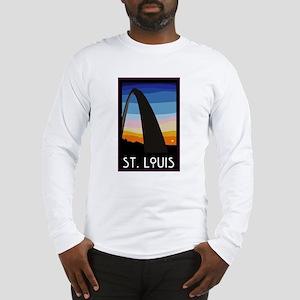 St. Louis Arch Long Sleeve T-Shirt