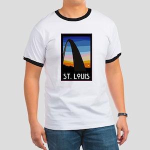 St. Louis Arch Ringer T