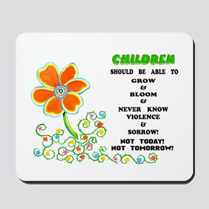 Love The Children! Mousepad
