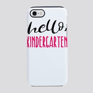 Kindergarten Hello Dark Cut iPhone 8/7 Tough Case