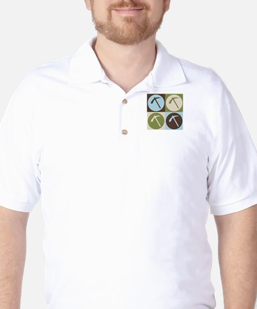 Geology Pop Art Golf Shirt