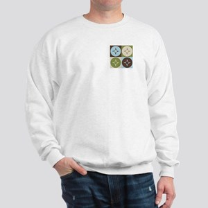 Geography Pop Art Sweatshirt