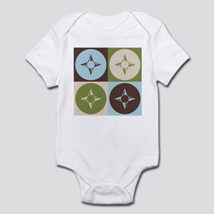 Geography Pop Art Infant Bodysuit