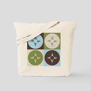 Geography Pop Art Tote Bag