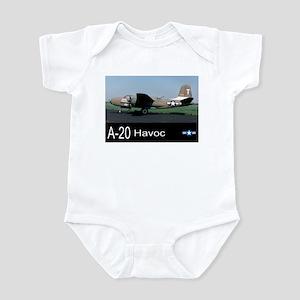 A-20 Havoc Bomber Infant Bodysuit