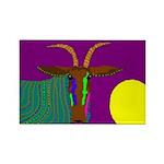 Antelope Rectangle Magnet (100 pack)