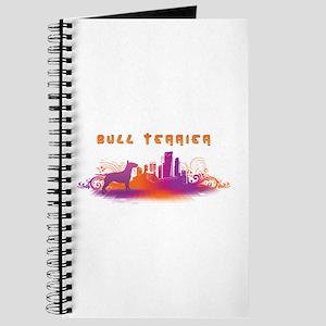 """""""City"""" Bull Terrier Journal"""