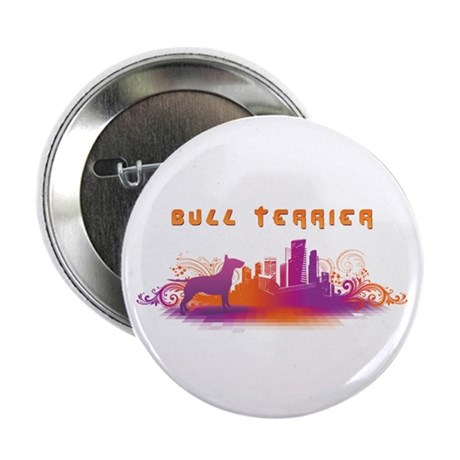 """City"" Bull Terrier 2.25"" Button (10 pack)"