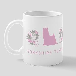 """Elegant"" Yorkshire Terrier Mug"