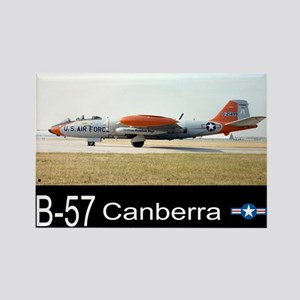 B-57 Canberra Bomber Rectangle Magnet