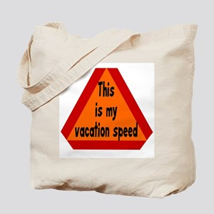 Vacation Speed Tote Bag