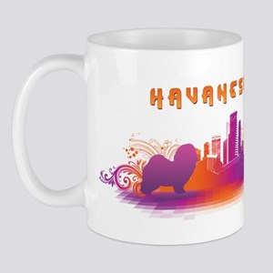 """City"" Havanese Mug"