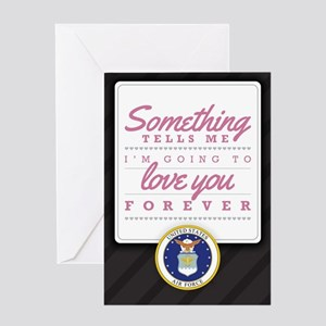 Air Force Love You Forever Greeting Card