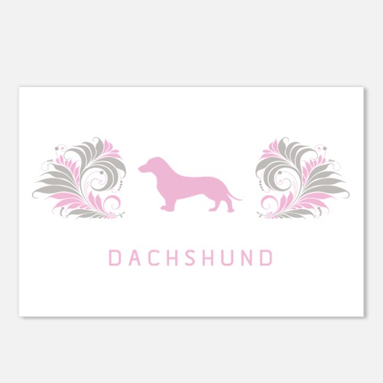 """Elegant"" Dachshund Postcards (Package of 8)"