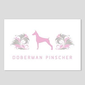 """Elegant"" Doberman Pinscher Postcards (Package of"