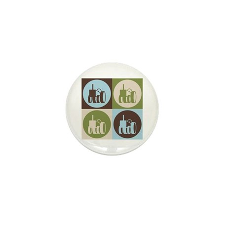 Farming Pop Art Mini Button (100 pack)