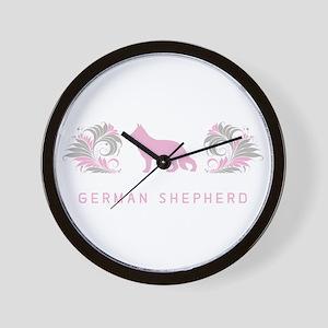 """""""Elegant"""" German Shepherd Wall Clock"""
