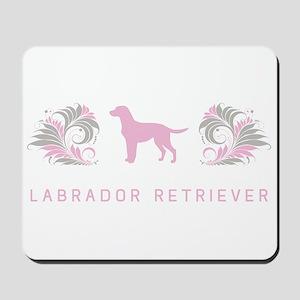 """""""Elegant"""" Labrador Retriever Mousepad"""