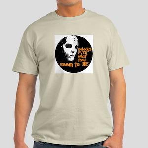 Behind the Mask | Ash Grey T-Shirt