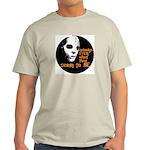Behind the Mask   Ash Grey T-Shirt