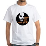 Behind the Mask   White T-Shirt