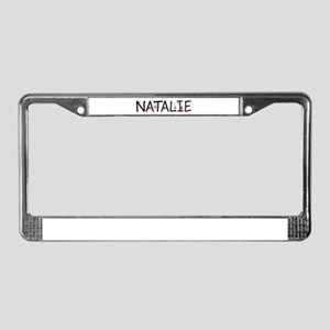 Natalie (Girl) License Plate Frame