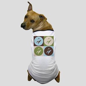 Dental Hygiene Pop Art Dog T-Shirt