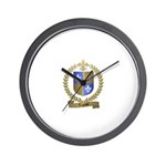 LEGAULT Family Crest Wall Clock