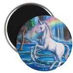 "Rainbow Unicorn 2.25"" Magnet (10 pack)"