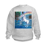 Rainbow Unicorn Kids Sweatshirt