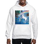 Rainbow Unicorn Hooded Sweatshirt