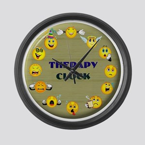 therapy Large Wall Clock