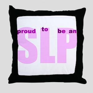 PROUD TO BE Throw Pillow