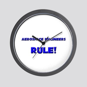 Aerospace Engineers Rule! Wall Clock