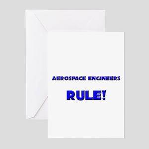 Aerospace Engineers Rule! Greeting Cards (Pk of 10