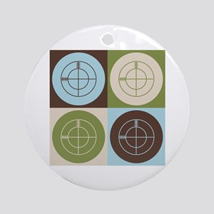CounterStrike Pop Art Ornament (Round)