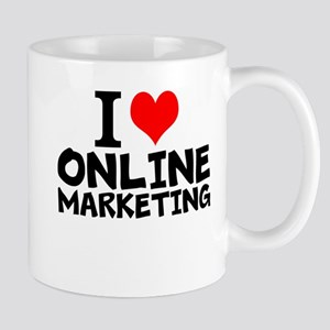 I Love Online Marketing Mugs